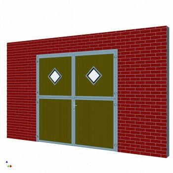 Stalltor Karo-Fenster