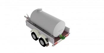 Wasserfasswagen 1500 Liter