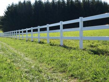Koppelzauntor für Ranchzaunsystem