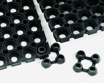 Verbinder für Ringloch-Gummimatte