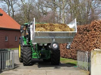 Growi Grossraumkuli für Traktoren Euro-Aufnahme