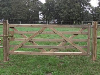 Holz-Weidetor Sussex