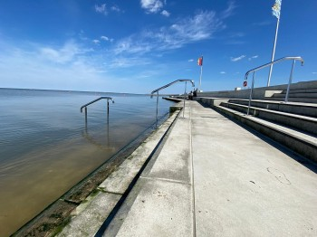 Strandduschen in Norddeich