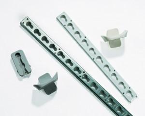 Hindernisschiene aus Stahl