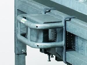 Dreipunkt-Schutzbügel für Quaderraufe