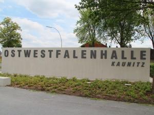 Schriftzug Ostwestfalenhalle