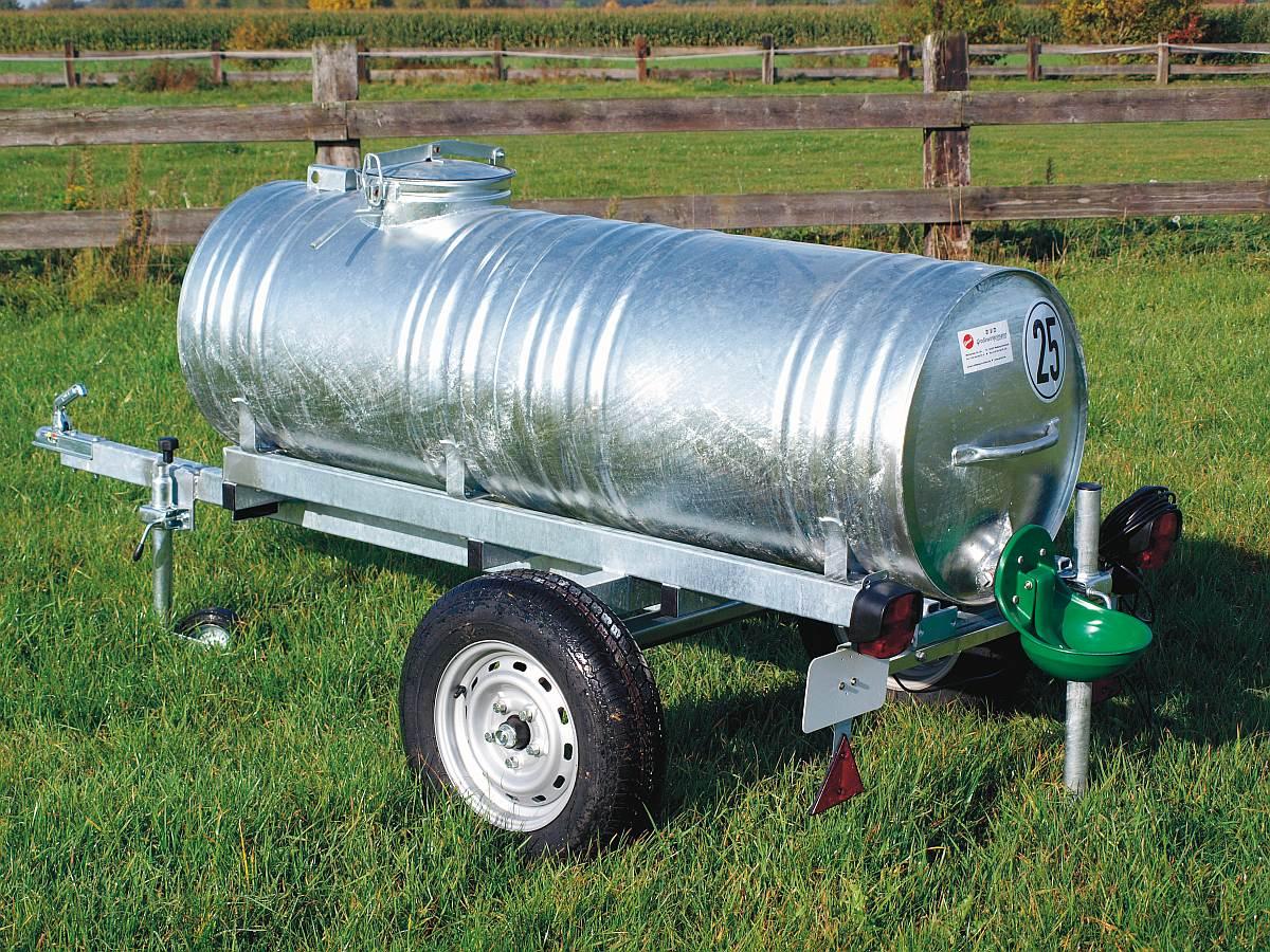 Wasserfasswagen 400 Liter