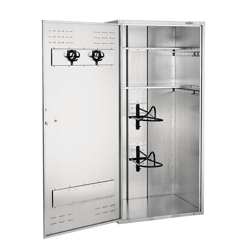 Growi Sattelschrank 900 x 750 mm Vorhangschloss / Englisch / 1,90 m