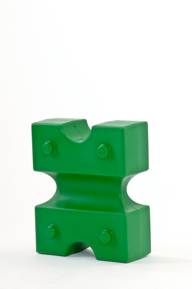 Cavaletti-Block Knuffi Grün