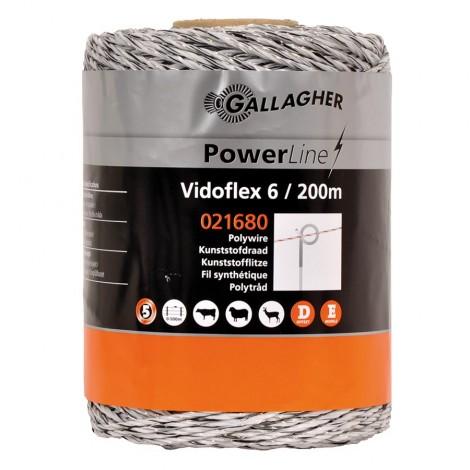 Gallagher Vidoflex 6 Weiss / 200 m