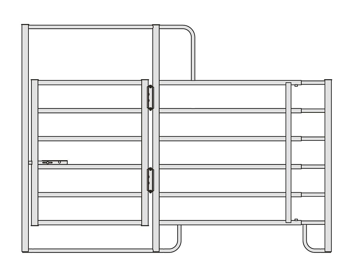 Panel Modell CL Pferd Tor