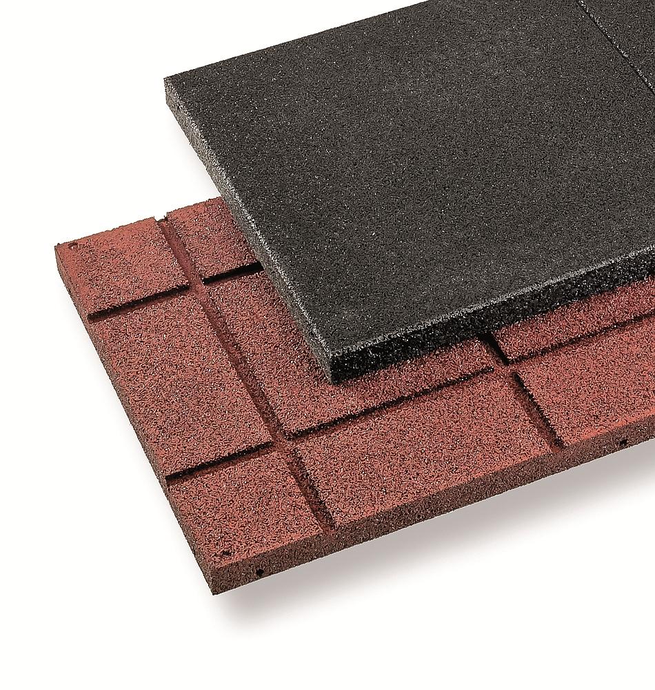 Regupol Elastikplatten  1000 x 500 x 43 mm Schwarz