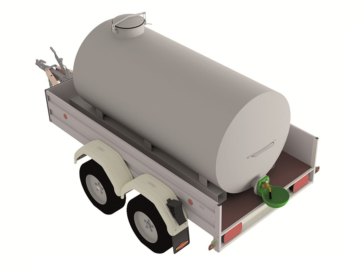 Wasserfasswagen 2000 Liter